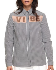 Polos & Button-Downs - Vibe Button Down Long Sleeve Top