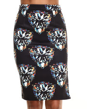 Women - Diamond Forever Midi Skirt