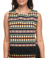 Tops - Temple Top w/fringe