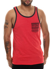 Buyers Picks - Contrast pocket Tank Top