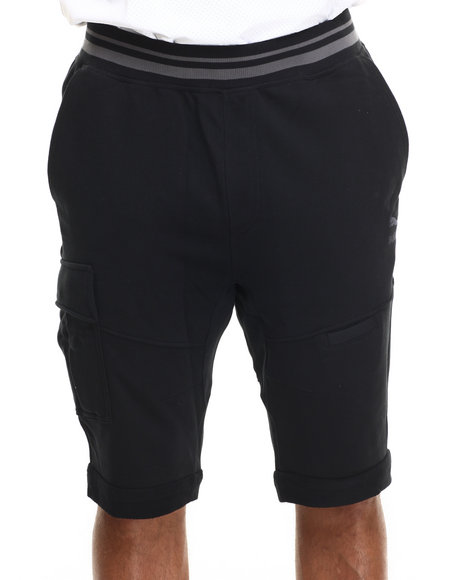 Puma - Men Black Habitat Cargo Shorts