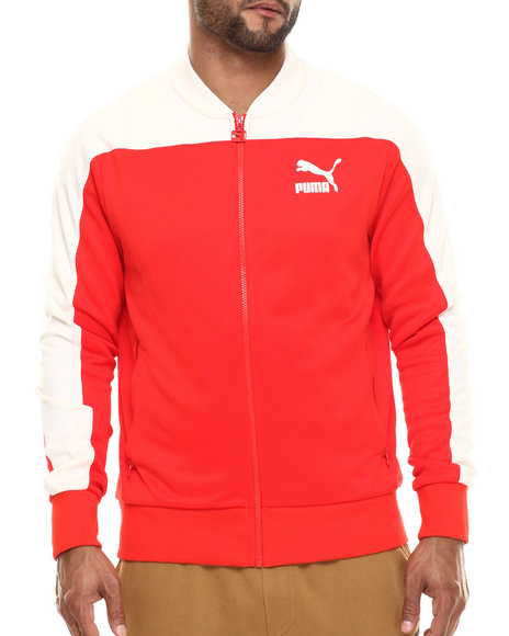 Ur-ID 216461 Puma - Men Red Pierre Track Jacket