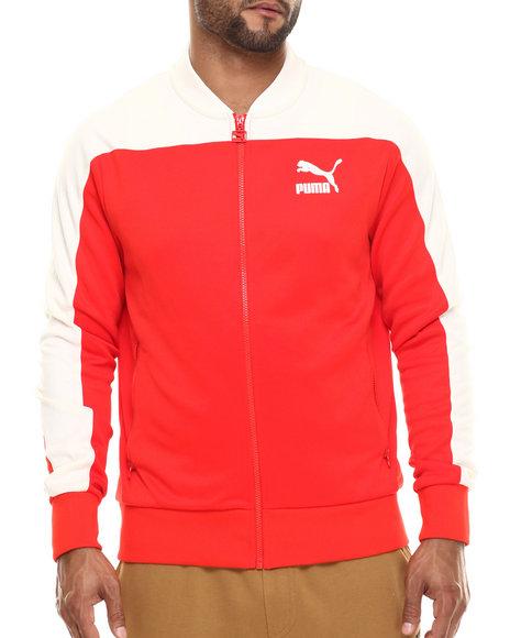 Ur-ID 216461 Puma - Men Red Pierre Track Jacket