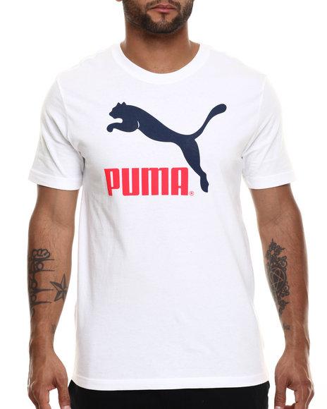 Ur-ID 216464 Puma - Men White No. 1 Logo S/S Tee