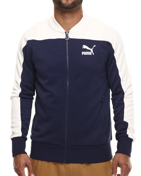 Ur-ID 216470 Puma - Men Navy Pierre Track Jacket