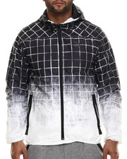 Men - Dip - Grid Windbreaker