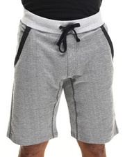 Men - Angle french terry shorts