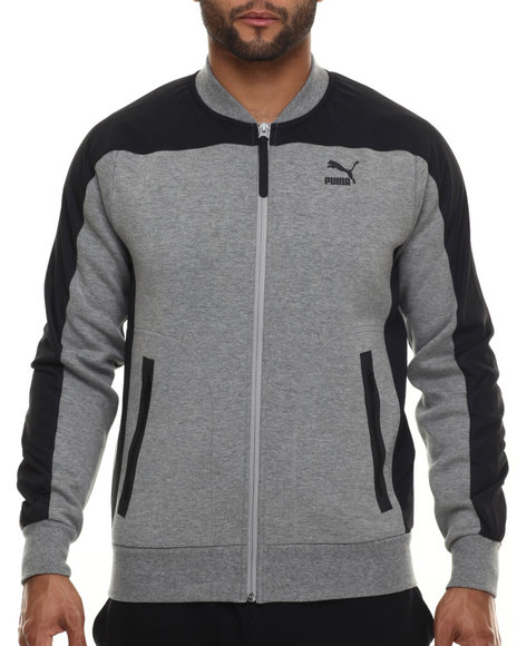Ur-ID 216512 Puma - Men Grey Evo Pierre Track Jacket