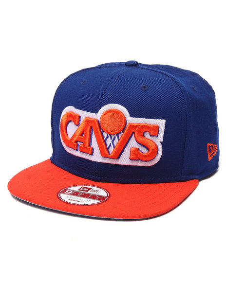 New Era Men Cleveland Cavaliers B-Ball 950 Snapback Hat Blue
