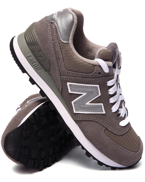 Ur-ID 216514 New Balance - Women Grey 574 Core Sneakers