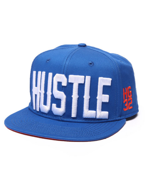 Ur-ID 223133 Hustle Gang - Men Blue Hustle Hg32 Snapback Cap