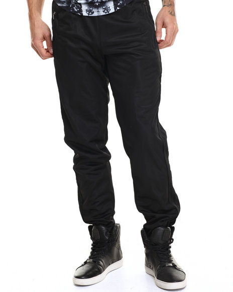 Buyers Picks - Men Black Active Sports Pants (Slim Fit)