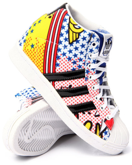 Ur-ID 216299 Adidas - Women White Superstar Up Rita Ora