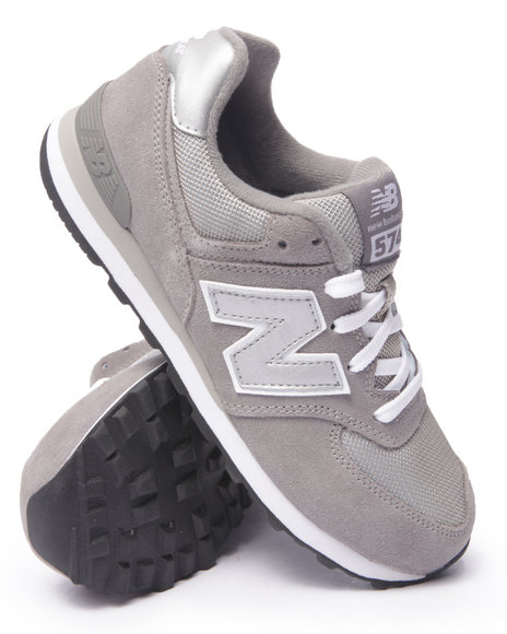 New Balance - Boys Grey 574 Core Sneakers (3.5-7) - $42.99
