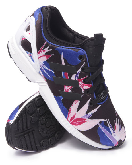 Adidas - Men Black Z X Flux Print - $64.99