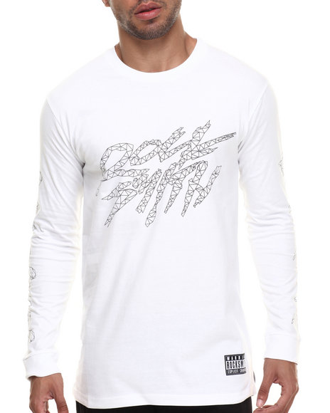 Rocksmith - Men White Osaka Logo L/S T-Shirt