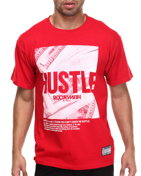 Rocksmith - Men Red Hustle T-Shirt