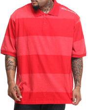 Big & Tall - Fabric-Block Polo (B&T)