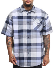 Rocawear - Windsor S/S Button-down (B&T)