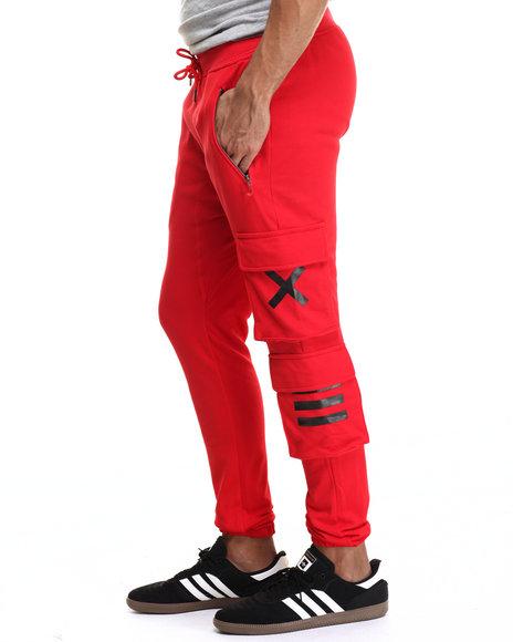 Ur-ID 216631 Hudson NYC - Men Red X X I I I Jogger Pants