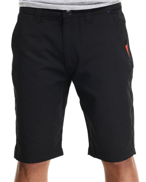 Ur-ID 216637 Adidas - Men Black Sport Luxe Twill Shorts