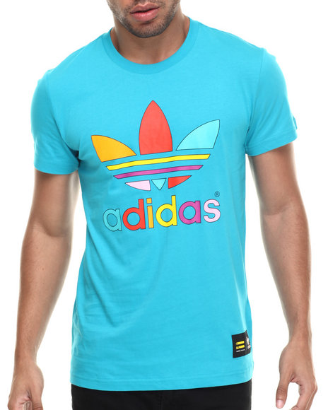 Adidas - Men Teal Supercolor By Pharrell Trefoil S/S Tee