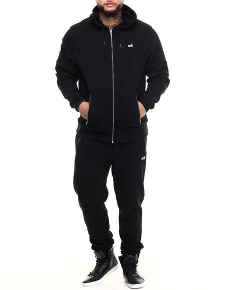 Akoo Men Indulge Fleece Set Black XX-Large