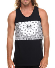 Men - Kesha Cut & Sewn tank top