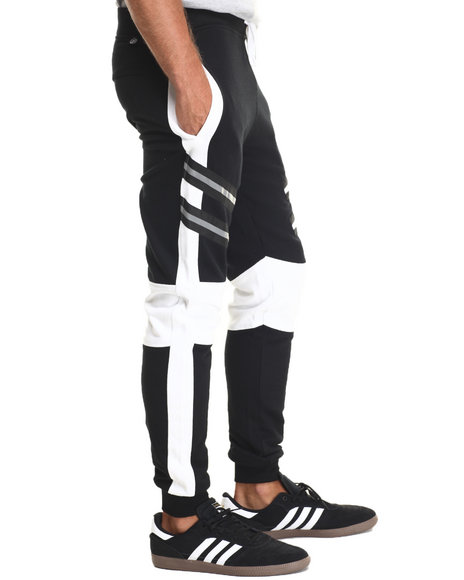 Buyers Picks - Men Black 3M Reflective Jogger
