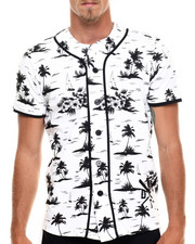 Jerseys - Palm Tree print baseball jersey