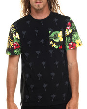 Men - Marshall Tropical Sleeve print s/s tee