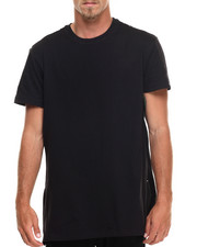 Akademiks - Harlem E-longated fashion tee (side zip detail)