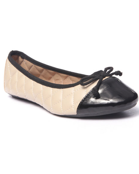 Fashion Lab - Women Beige Lotus Comfort Flex Ballet Flat
