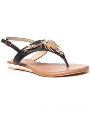 Fashion Lab - Maine Claw Strap Sandals