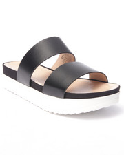 Fashion Lab - Mello Strap Slip-On Sandals