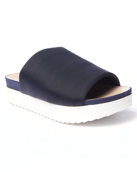 Ur-ID 216761 Fashion Lab - Women Navy,Navy,Navy Gelato Slip-On Sandals