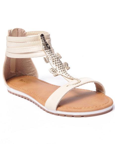 Ur-ID 216767 Fashion Lab - Women Cream Bayou Allie Sandals