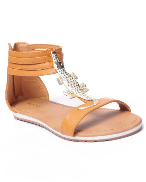 Ur-ID 216768 Fashion Lab - Women Tan Bayou Allie Sandals
