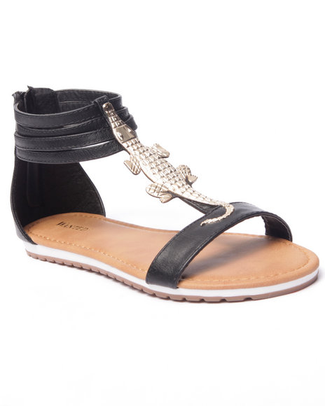 Ur-ID 216769 Fashion Lab - Women Black Bayou Allie Sandals