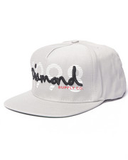 Men - Diamond Logo Snapback Hat