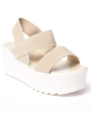 Fashion Lab - Sacher Strap Platform Sandals