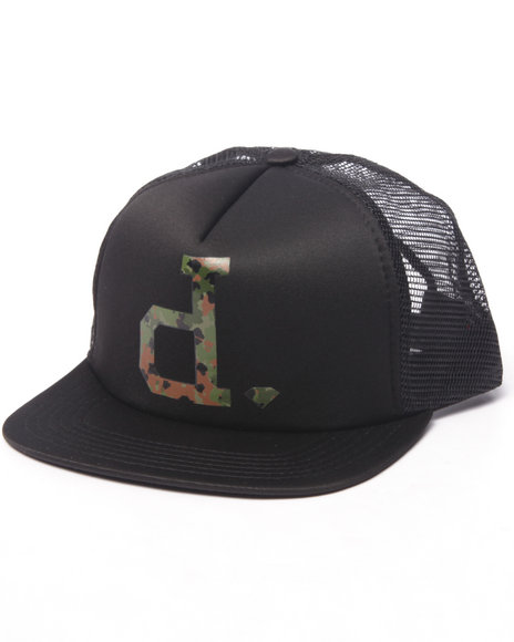 Diamond Supply Co Men D-Iamond Snapback Hat Black - $14.99