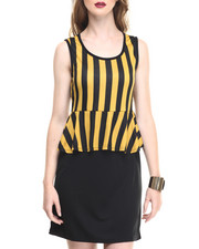 Women - Jr. Peplum Dress
