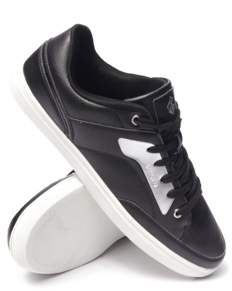 Rocawear - Men Black Plated Lowtop Sneaker - $29.99