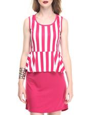 Fashion Lab - Jr. Peplum Dress