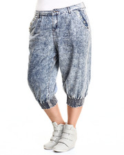 Women - Chambray Capri Jogger