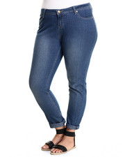 Apple Bottoms - Bling Back Pocket Skinny Jean (Plus)