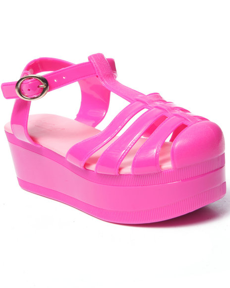 Fashion Lab - Women Pink Jellypop Sandals