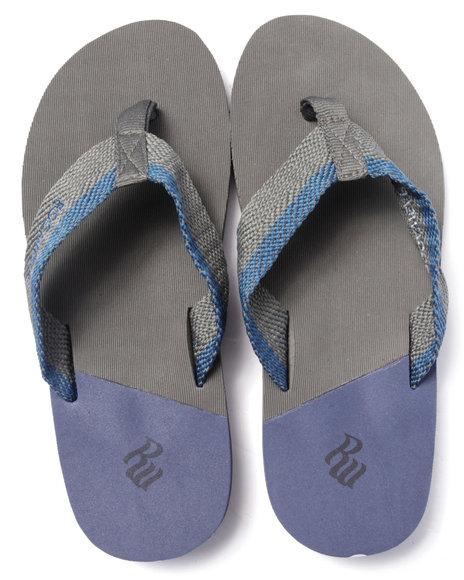 Rocawear - Men Grey Rocawear Sport Sandals