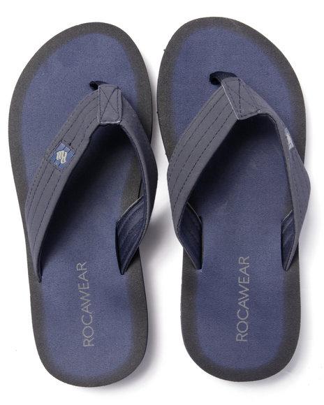 Rocawear - Men Navy Rocawear Sandals - $14.99